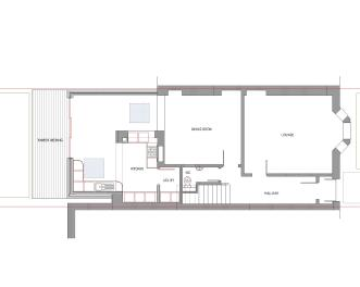 Milner Road, Jordanhill, Proposed Floor Plan