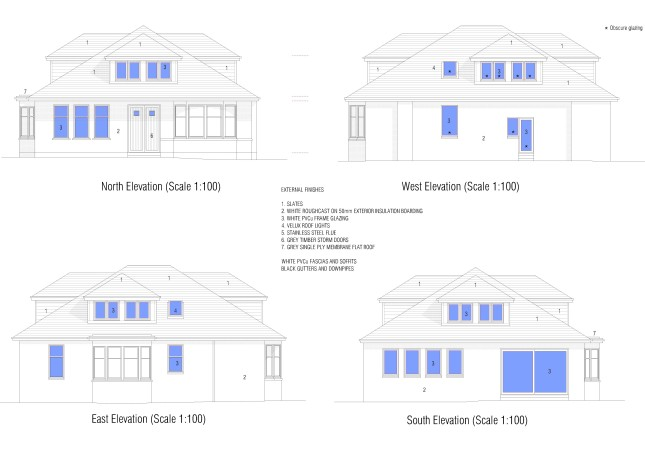 Ravenstone Drive Elevations