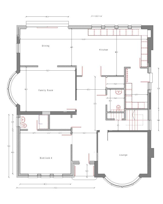 Ravenstone Drive ground floor plan