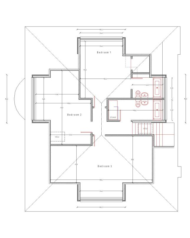 Ravenstone Drive Upper floor plan