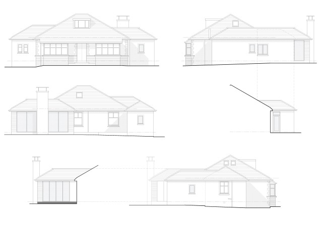 gallowhill road elevations