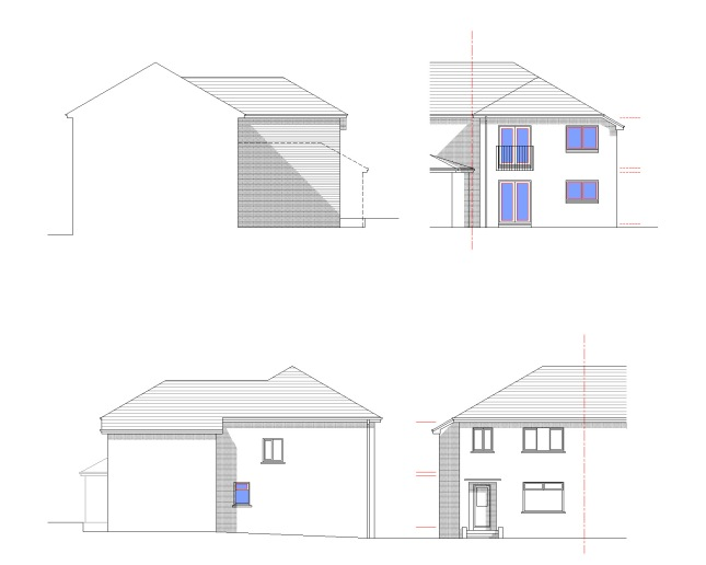 FORRES AVENUE ELEVATIONS