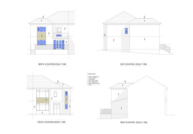 vardar Avenue elevations